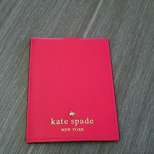 New Kate  Spade card holder / luggage tag cover